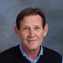 Portrait of male in blue sweater