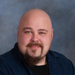 portrait of mail wearing black shirt